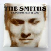 The Smiths - 'Strangeways Here We Come' Square Badge